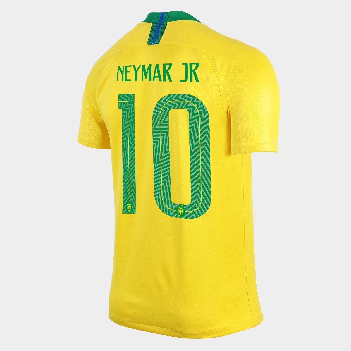 8960193378 camisa brasil nike 18 19 (original) neymar jr n10. Carregando zoom.