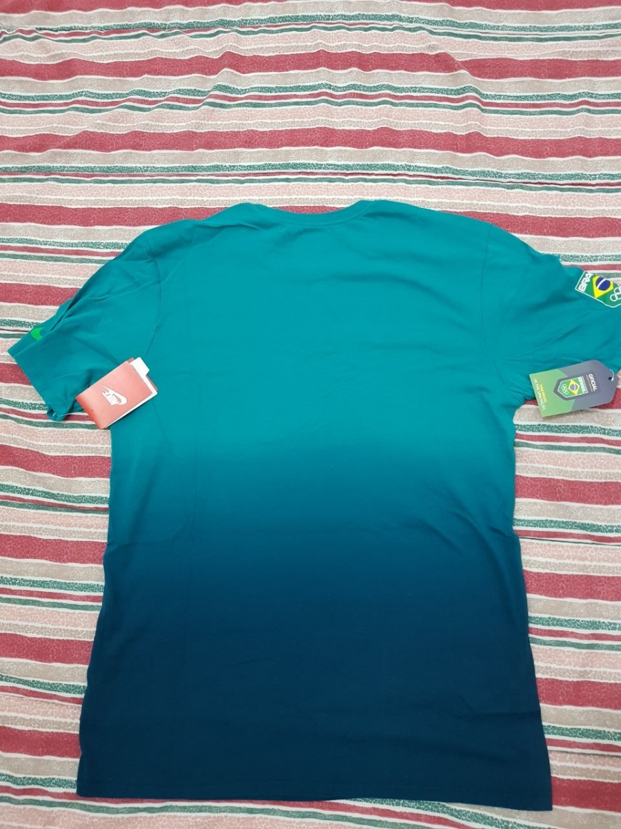 c73ae5f3ebff6 camisa brasil olimpíada nike - bandeira brasil. Carregando zoom.