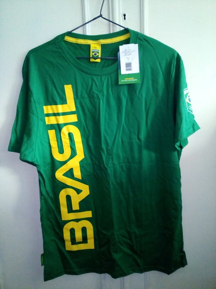 ab3765d524 camisa brasil olimpiadas rio 2016 oficial. Carregando zoom.