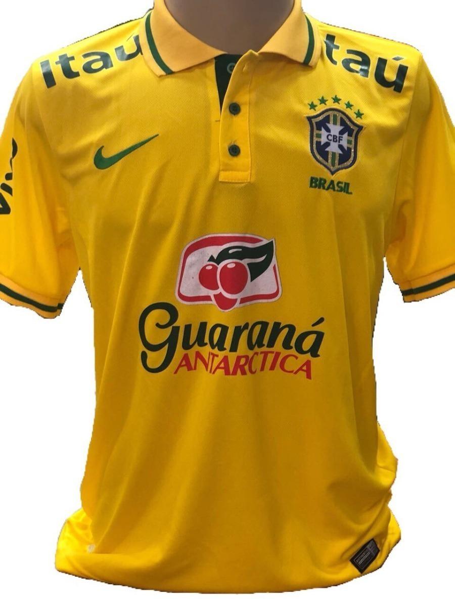 ec718129fbf23 camisa brasil polo seleção brasileira treino amarela. Carregando zoom.
