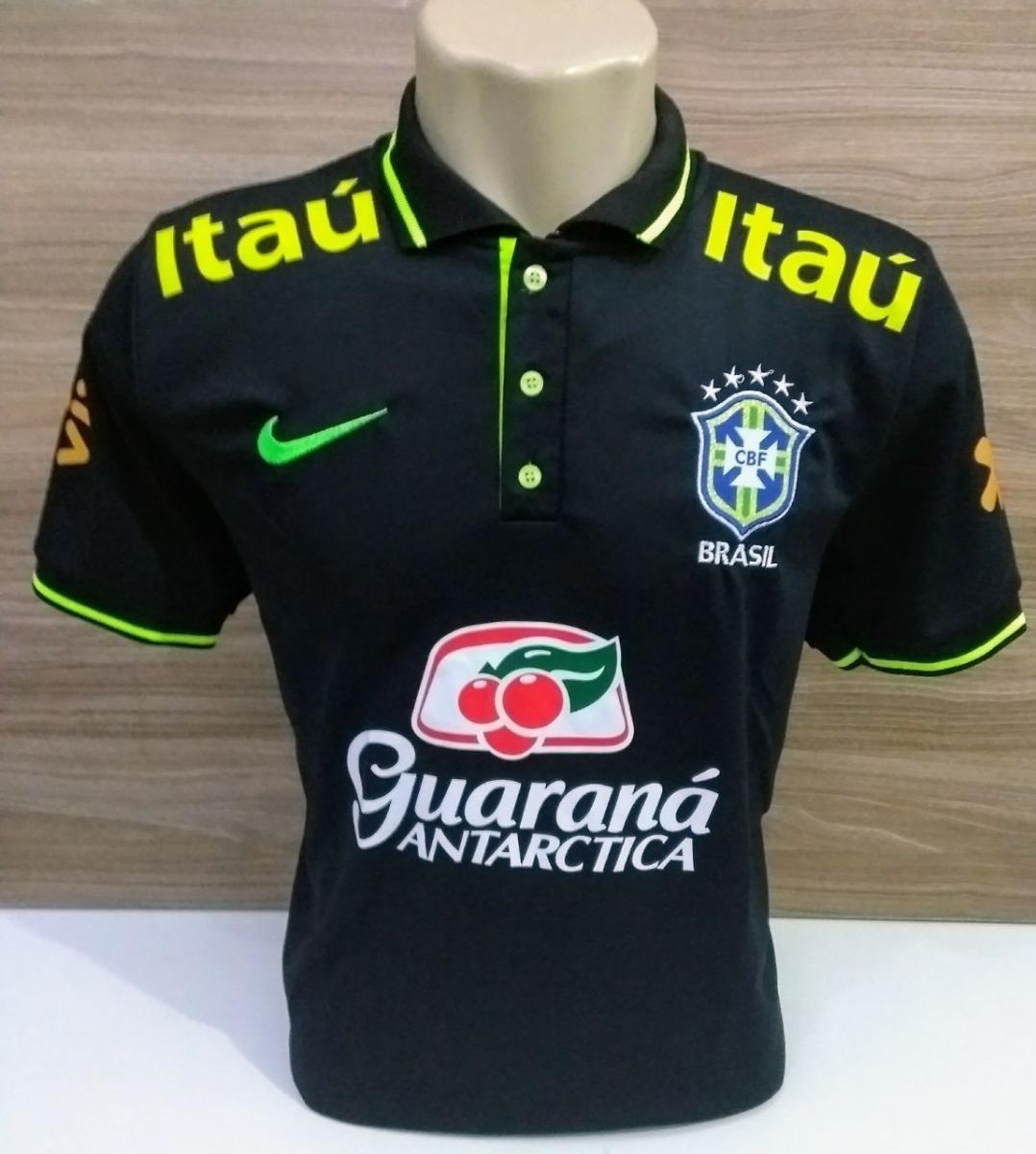 c6a3c742f49d0 camisa brasil polo seleção brasileira treino copa 2018. Carregando zoom.