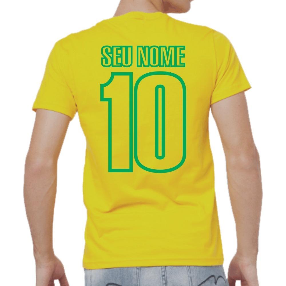 ... 1766033f17d camisa brasil rumo ao hexa copa do mundo personalizada nome.  Carregando zoom. 97c099b21d0