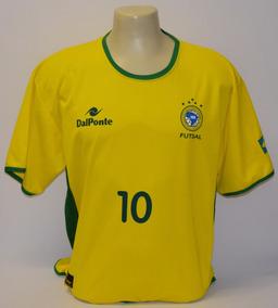 010adb2cb7 Camisa Seleção Brasileira Futsal Falcao - Esportes e Fitness no Mercado  Livre Brasil