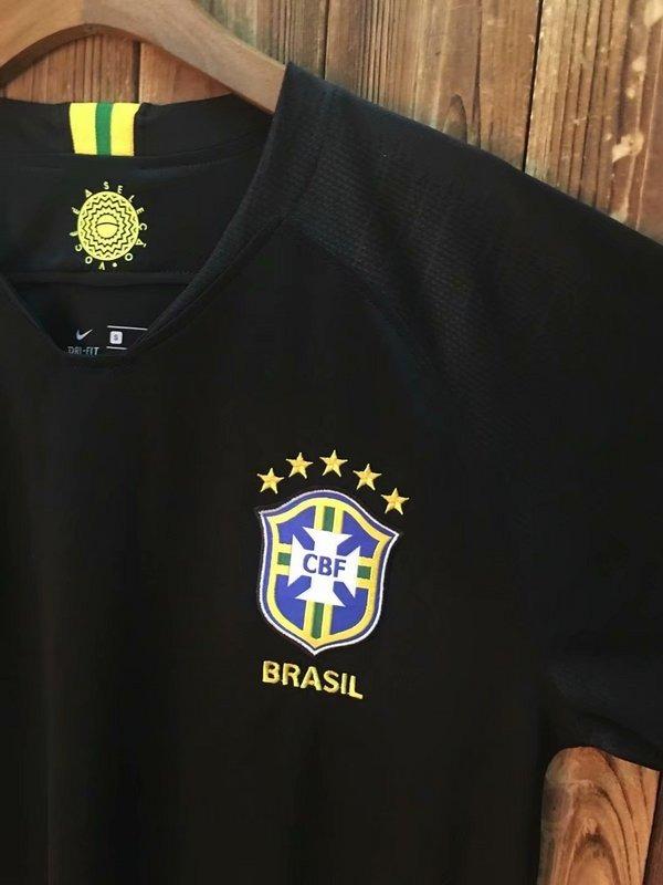 Carregando zoom... brasil seleção camisa. Carregando zoom... camisa brasil  goleiro copa russia 2018 preta seleção nike 75e7c7dfa3d96