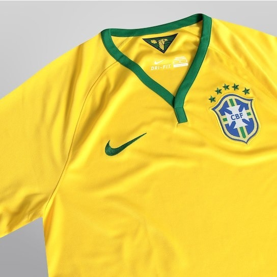 Camisa Brasil Cbf - Nike  810802a60d87d