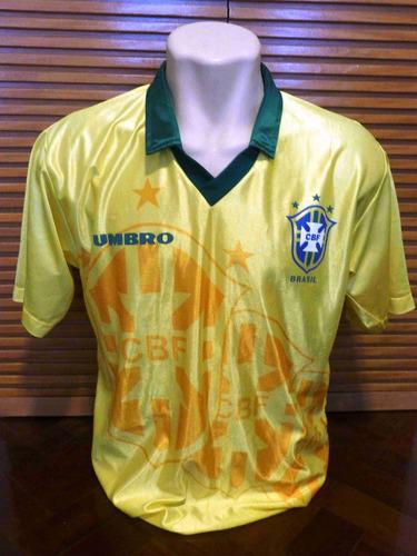camisa brasil - seleção brasileira copa 94 - umbro - oficial