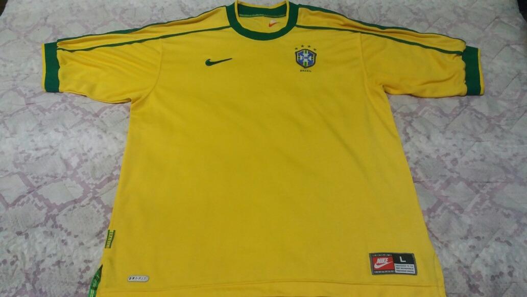 2dd731f8a3 camisa brasil   seleção brasileira nike copa 98 sem uso. Carregando zoom.