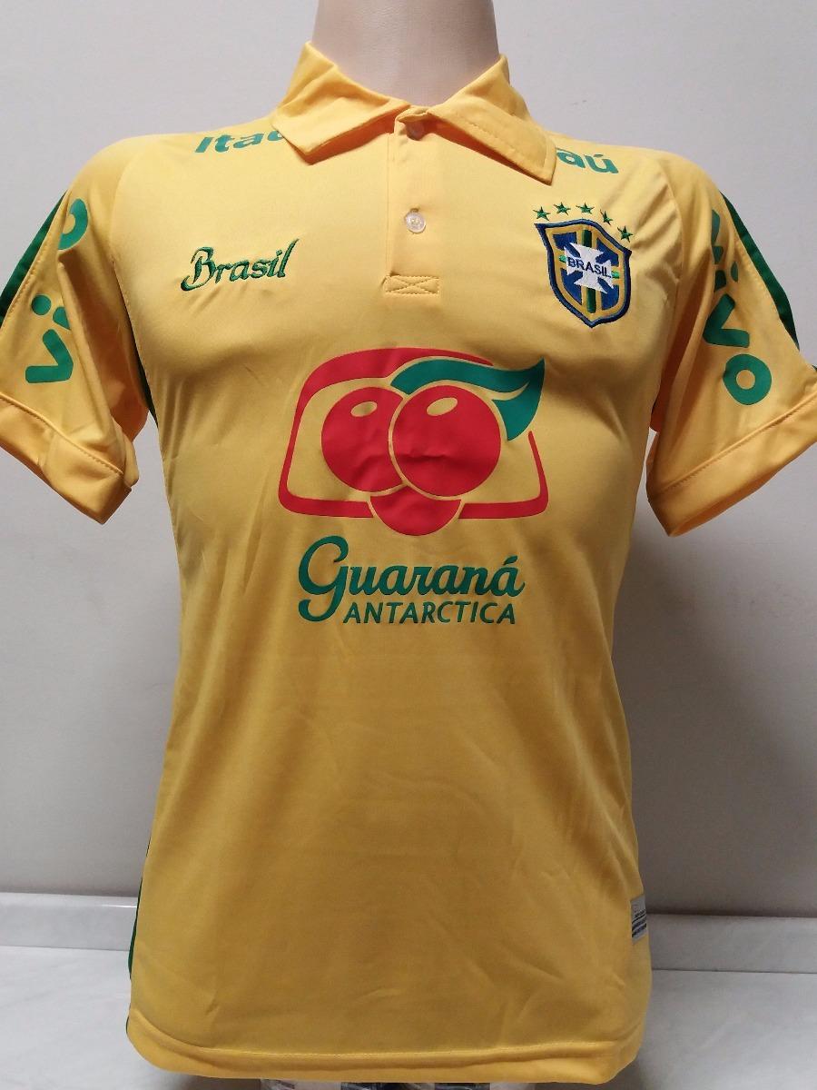 38f54ba79c camisa brasil treino preta copa 2018 promoção. Carregando zoom.