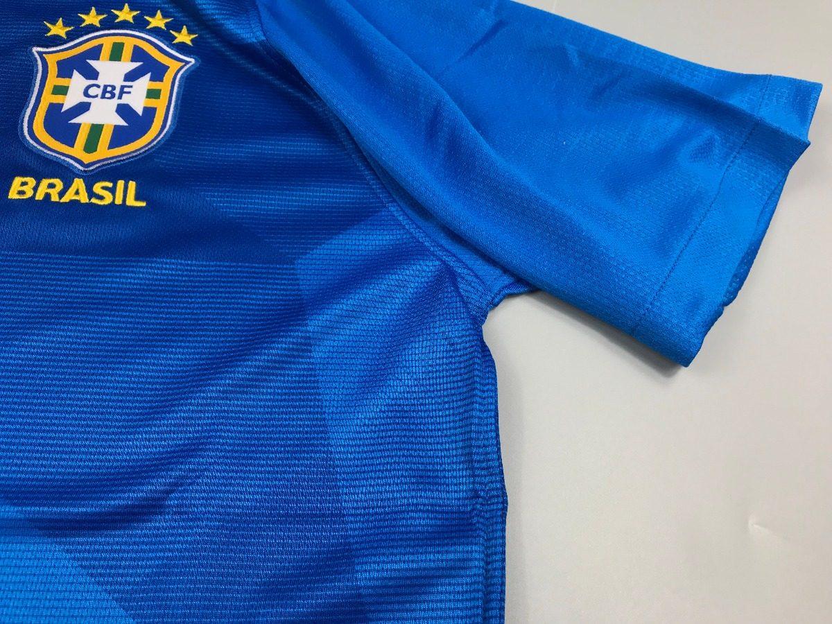 02999e41ec4fa camisa brasil - uniforme 2 copa 2018 original frete grátis. Carregando zoom.