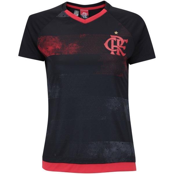 Camisa Braziline Feminino Flamengo Rally Raglan Fem - R  89 a1a70840547b3