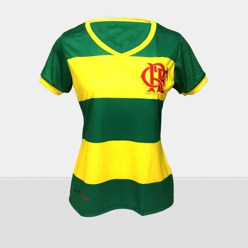 camisa braziline flamengo brasil feminina tamanho m. Carregando zoom. 2d3c41bbdbe7e