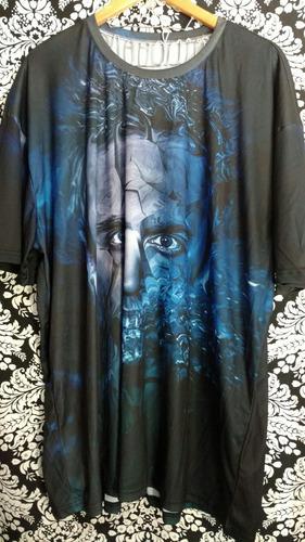 camisa breaking bad estampa digital plus size unica