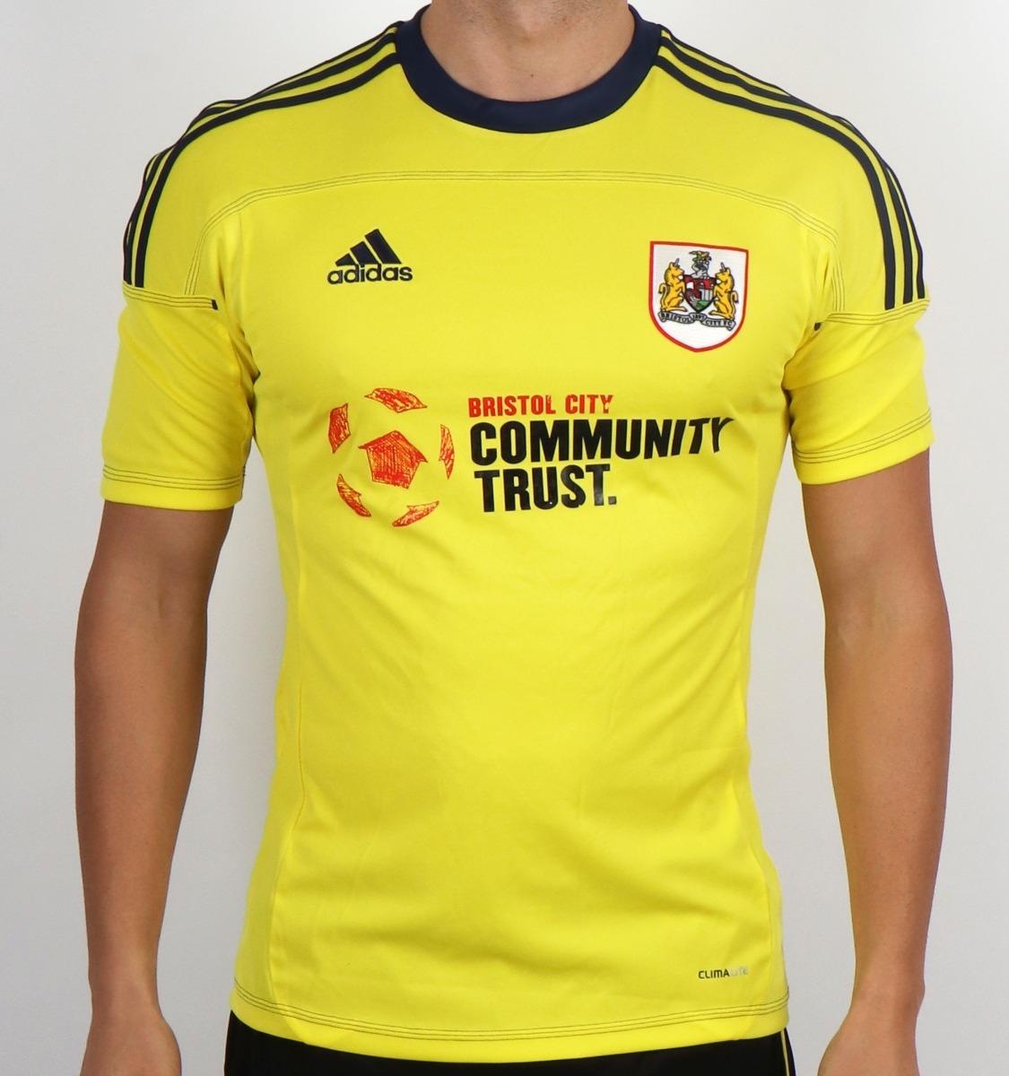 Camisa Bristol City Football Club adidas 2011 12 Inglaterra - R  99 ... 333bfcdcc1170