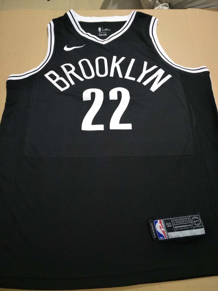 camisa brooklyn nets russell nba 2018 nike basquete icon. Carregando zoom. a94295786e4