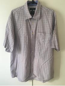 502a7b11aa Camisa Manga Curta Brooksfield - Calçados