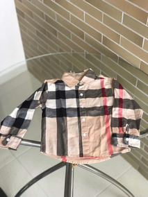 bbfca33be Camisa Menino Burberry - Calçados, Roupas e Bolsas com o Melhores Preços no  Mercado Livre Brasil