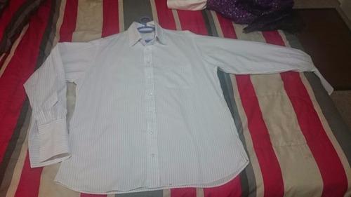 camisa burberry original talla l.