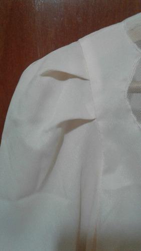 camisa c/ transparencia
