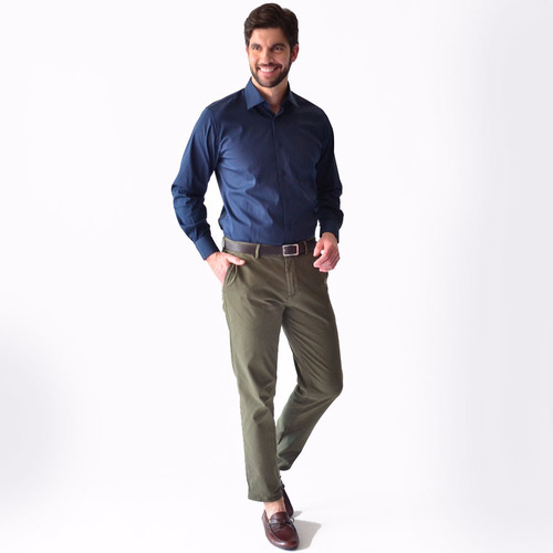camisa caballero casual hombre xl colores lisos rack & pack