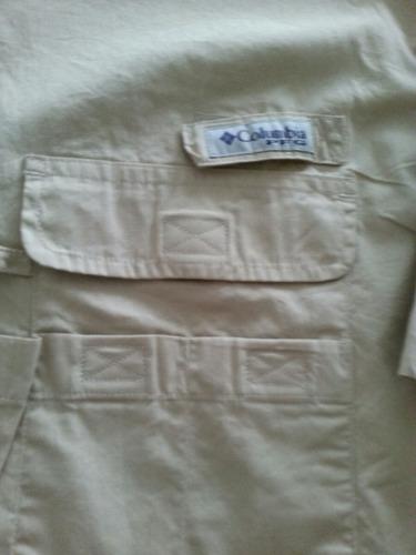 camisa caballero  columbia original