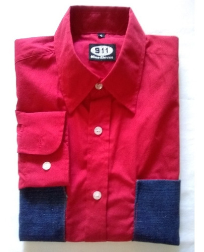 camisa caballero marca eleben 911  import