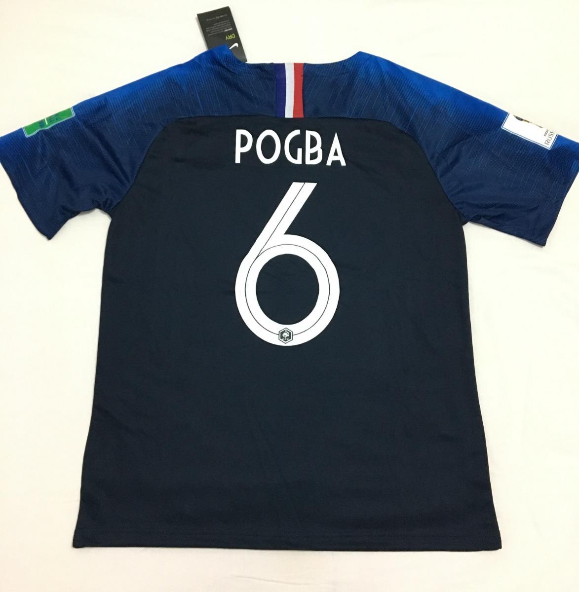 Camisa+calção+meião França copa Do Mundo pogba adulto - R  155 7f0a0a84b92d4