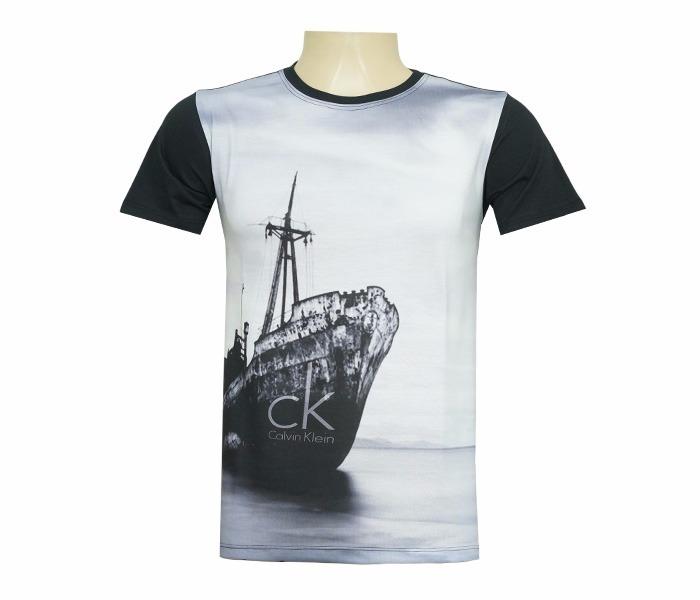 Camisa Calvin Klein Barco - R  70,00 em Mercado Livre 4f0f9df2c9
