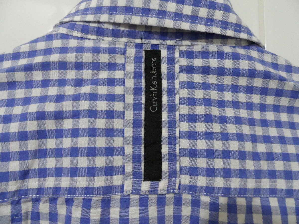 dc1a9a01c09fa camisa calvin klein infantil (manga longa)- original. Carregando zoom.
