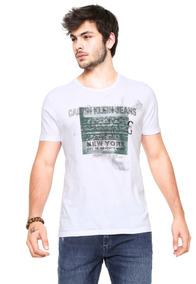 c69c2a487 Camisa Calvin Klein - Calçados, Roupas e Bolsas no Mercado Livre Brasil