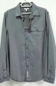 bb7c31084f2da Camisa Calvin Klein Original Talle Ropa Accesorios Hombre - Camisas ...