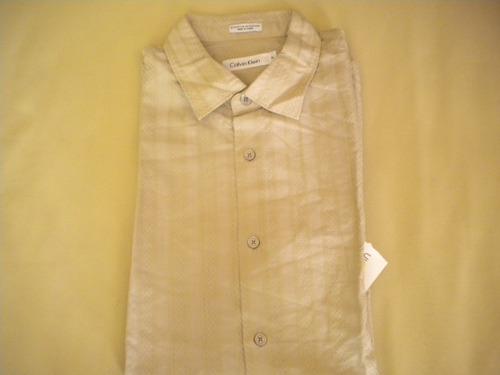 camisa calvin klein talla m caballero