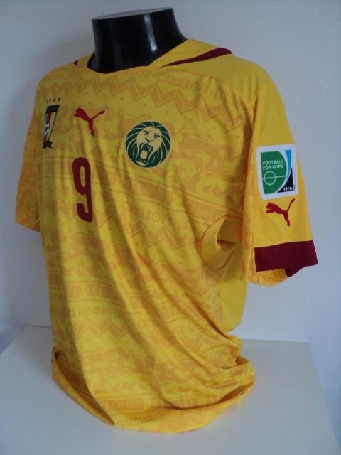 abef45087c Camisa Camarões Away 14-15 Eto O 9 Copa 2014 Importada - R  150