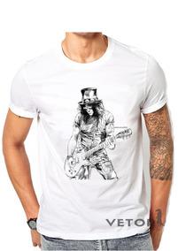 ed61c3953f Camiseta Rock Slash Do - Camisetas com o Melhores Preços no Mercado Livre  Brasil