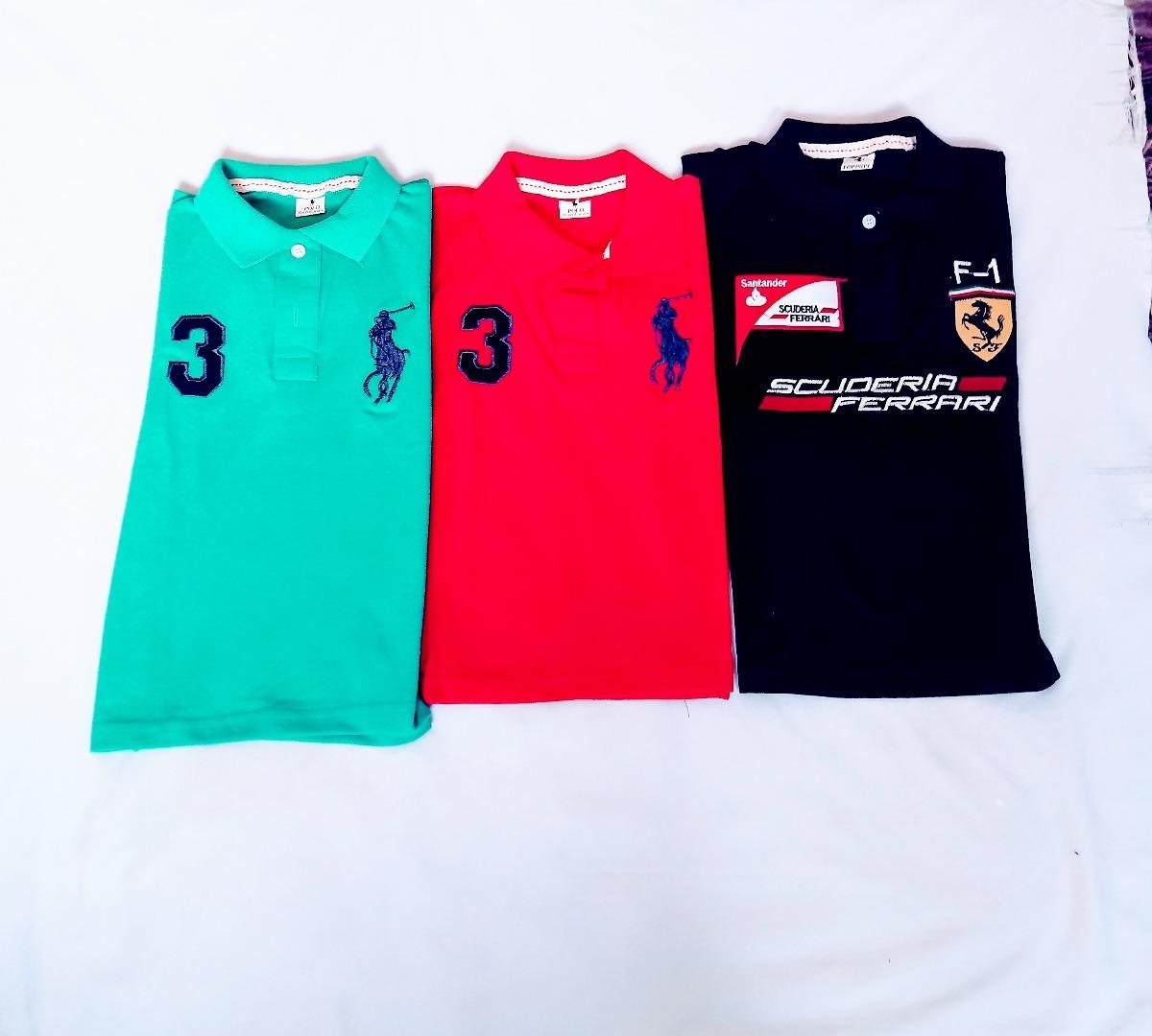 camisa camiseta 3 peças polo infantil masculino outlet top. Carregando zoom. 017f68381a0