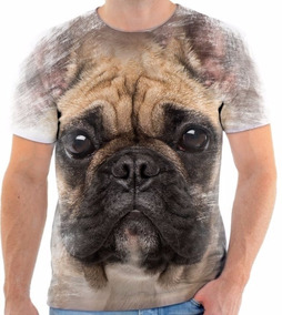 838761f54c Camisa Cachorros 3d - Camisetas Masculino Manga Curta no Mercado ...