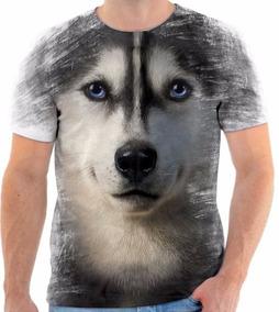 dc7e67b482 Camisa 3d Lobo no Mercado Livre Brasil