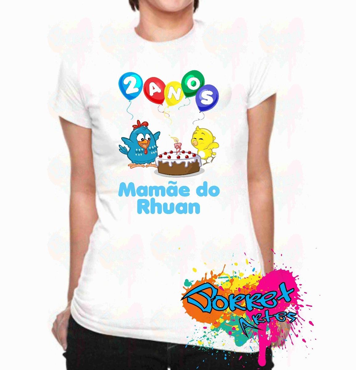 2e66fd7660 camisa camiseta adulto personalizada galinha pintadinha a4. Carregando zoom.