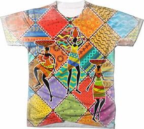 ee027876ef Camisas Africanas Femininas - Calçados, Roupas e Bolsas com o Melhores  Preços no Mercado Livre Brasil