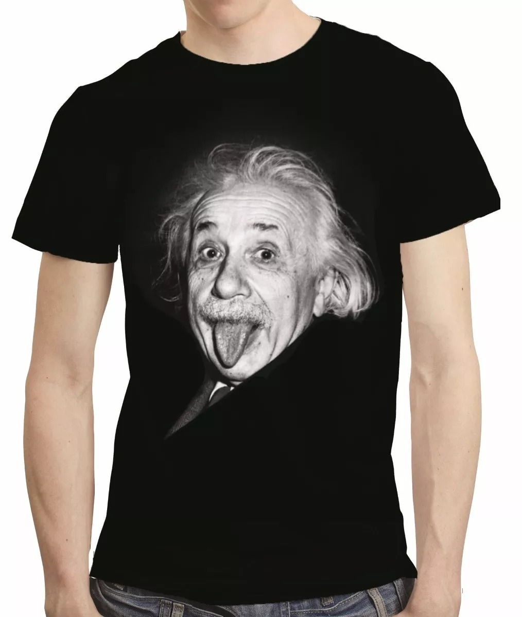 2aa5d7986 camisa camiseta albert einstein - estampa total. Carregando zoom.