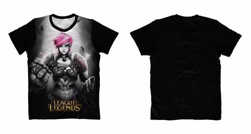 camisa camiseta anime - league of legends - vi