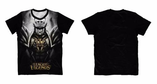 camisa, camiseta anime - leagues of legends - jarvan iv