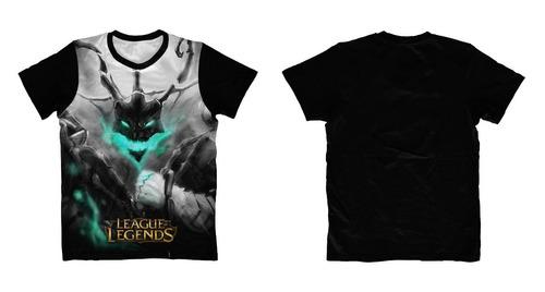camisa, camiseta anime - leagues of legends - thresh