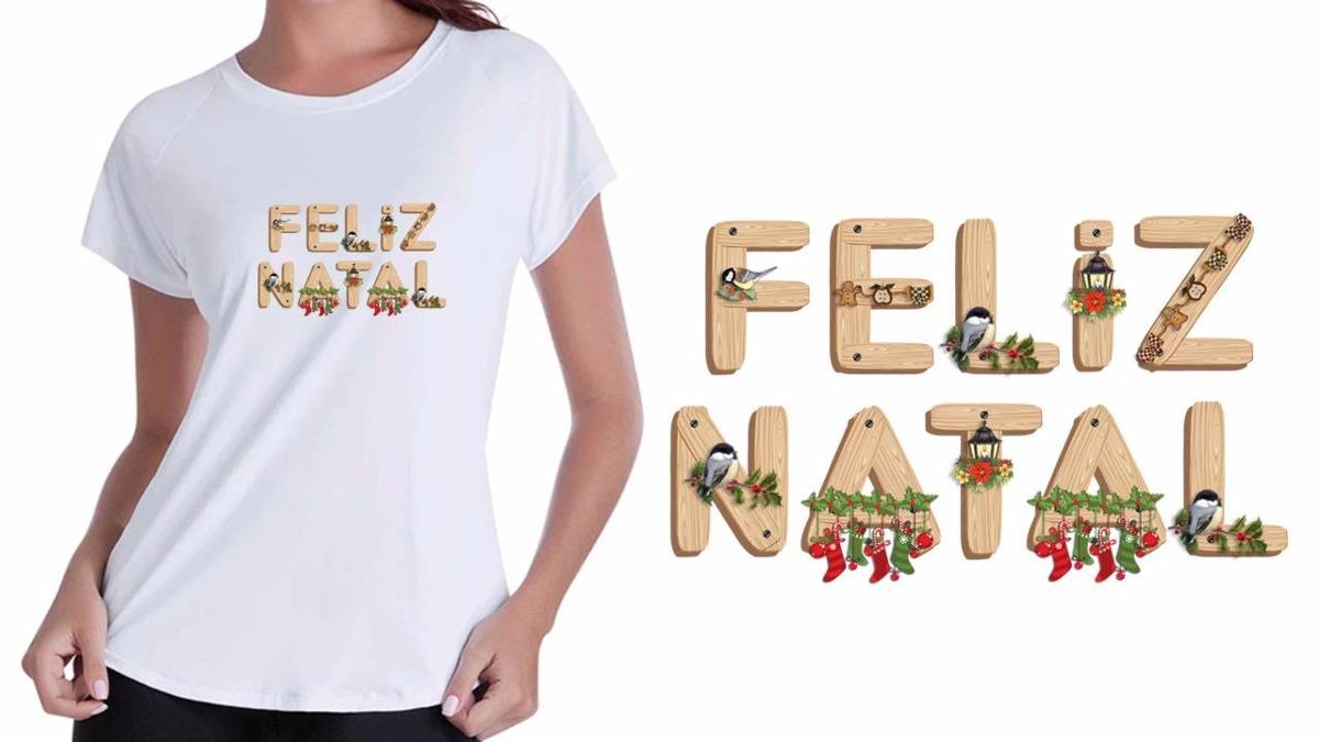 Camisa camiseta baby look branca feliz natal modelos diverso jpg 1200x675  Branca modelos de camisas 25f1bb731aa3a