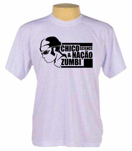 camisa camiseta banda rock chico science e nação zumbi
