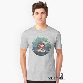 0fca9986cc Camisa Camiseta Blusa Algodão Premium Monte Everest Alpinis