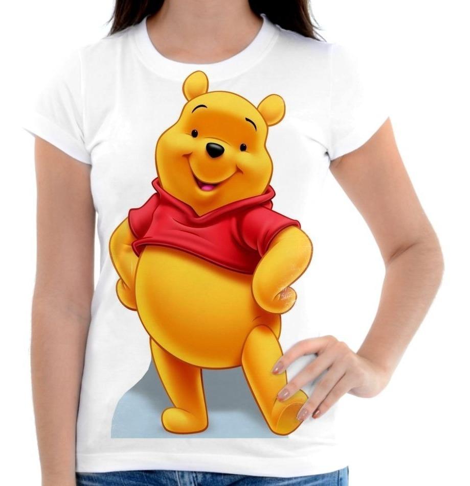 Camisa Camiseta Blusa Desenho Ursinho Pooh Puff 2 R 50 00 Em