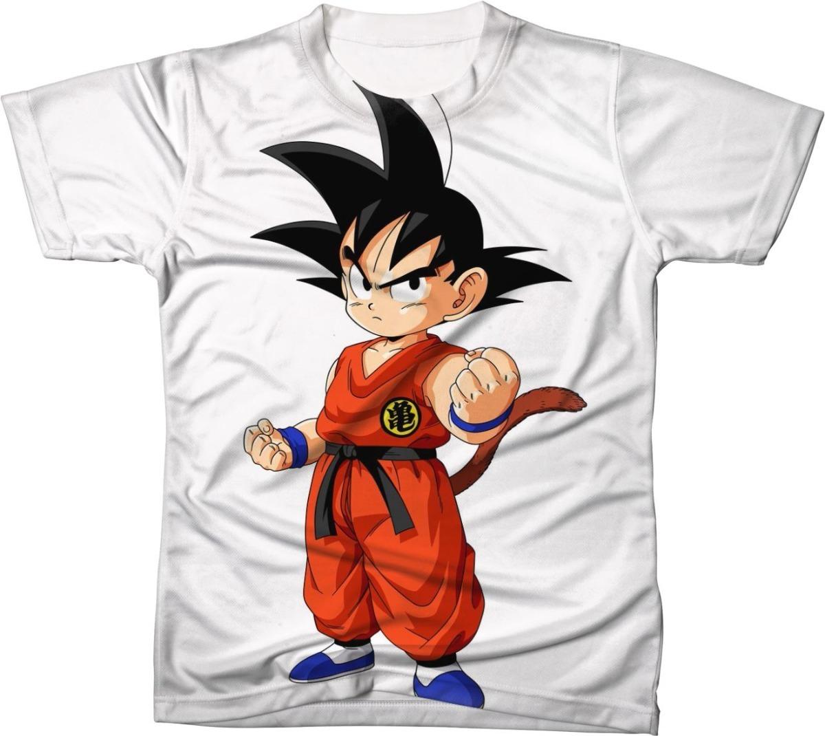 camisa camiseta blusa dragon ball desenho goku 03 r 49 95 em