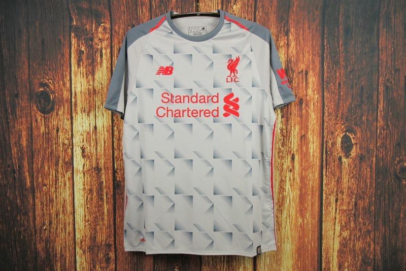 camisa camiseta blusa futebol liverpool third adulto 2018. Carregando zoom. d624d5ae07d87