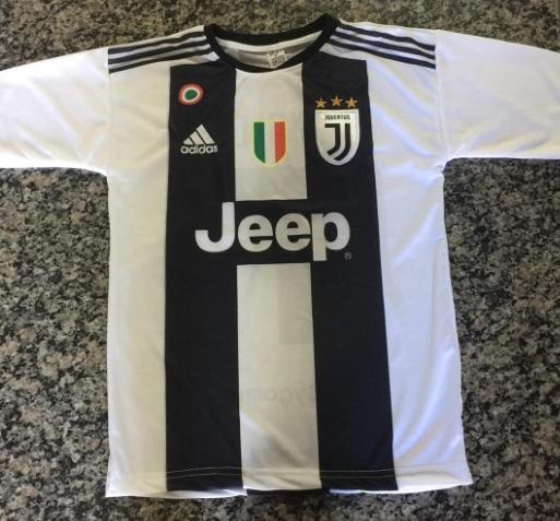 5cfa2e73f Camisa Camiseta Blusa Juventus Cr7 Hiper Promoção Envio Hoje - R  24 ...