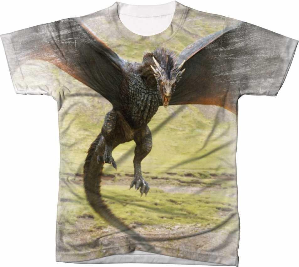 6828cbfdb camisa camiseta blusa manga curta game of thrones got dragão. Carregando  zoom.